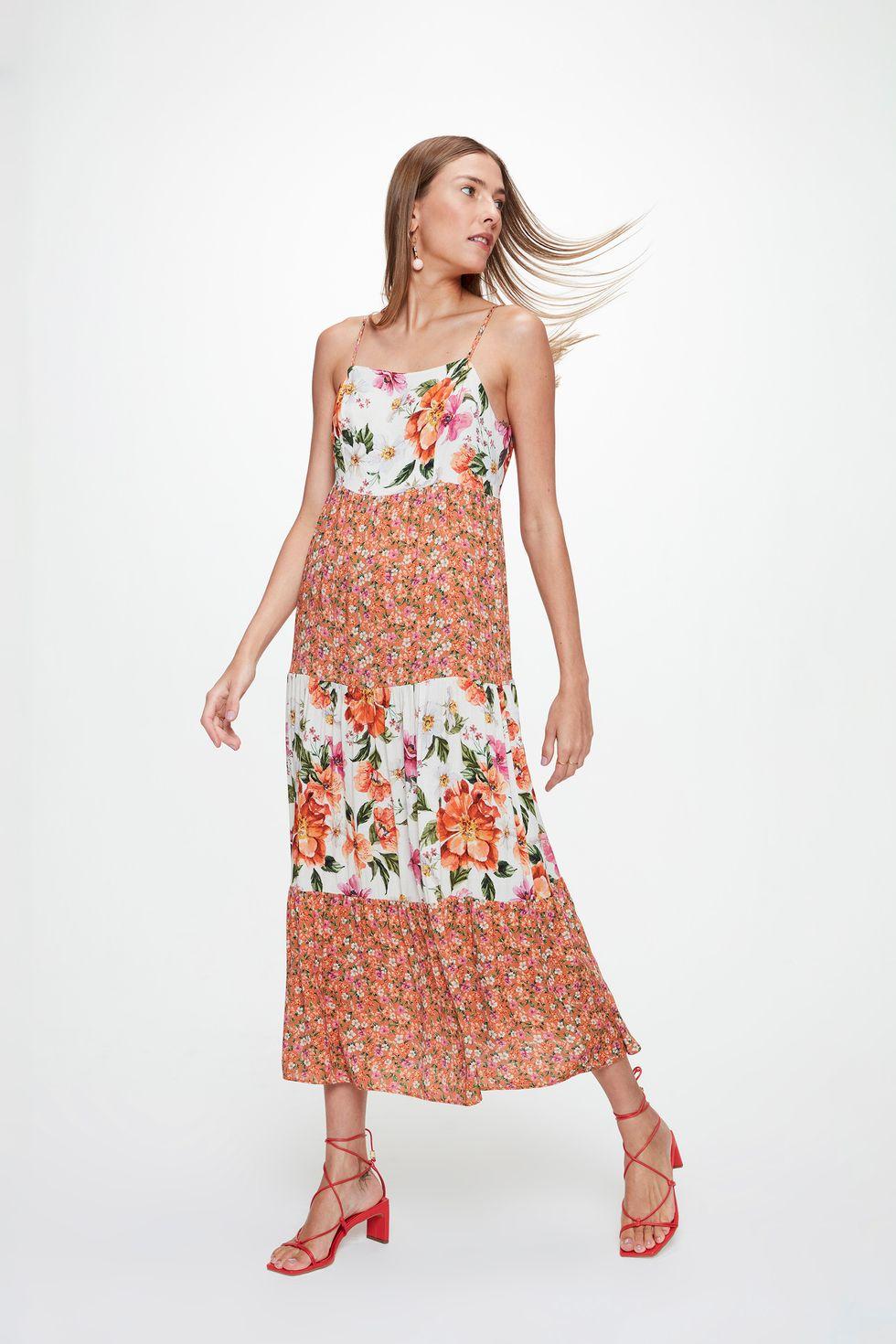 Vestido-Midi-Recortes-Mix-Florais-Detalhe--