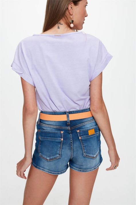 Short-Jeans-Medio-Curto-Justo-com-Cinto-Costas--