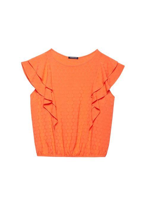 Blusa-Tecido-Plano-com-Textura-e-Babados-Detalhe-Still--
