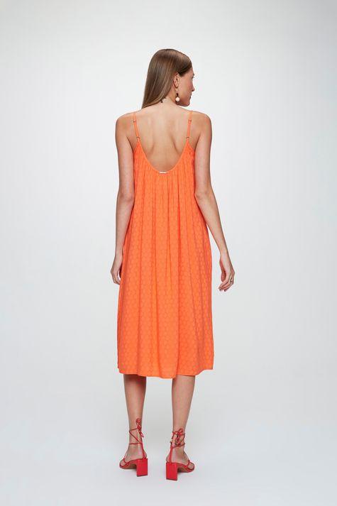Vestido-Midi-em-Tecido-Plano-com-Textura-Detalhe--