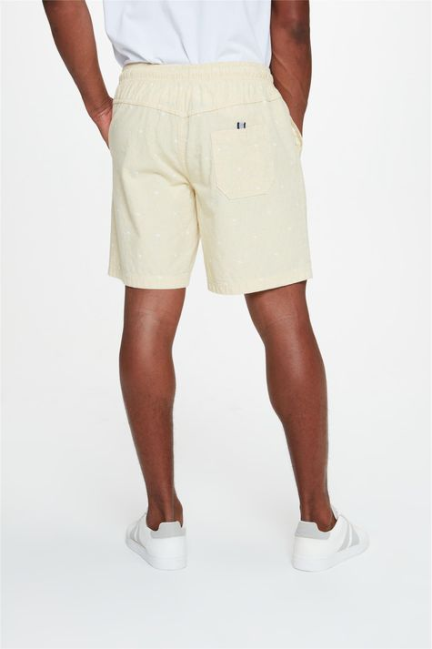 Bermuda-Jogger-com-Estampa-C18-Masculina-Costas--