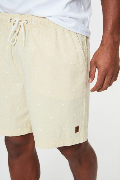 Bermuda-Jogger-com-Estampa-C18-Masculina-Detalhe-1--