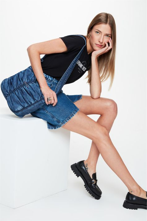 Bolsa-Jeans-com-Franzidos-Feminina-Frente--